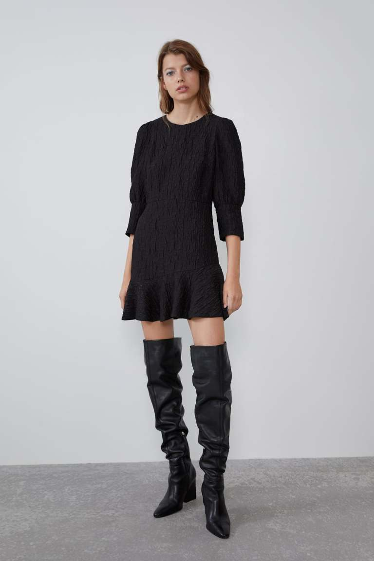Zara Textured Dress