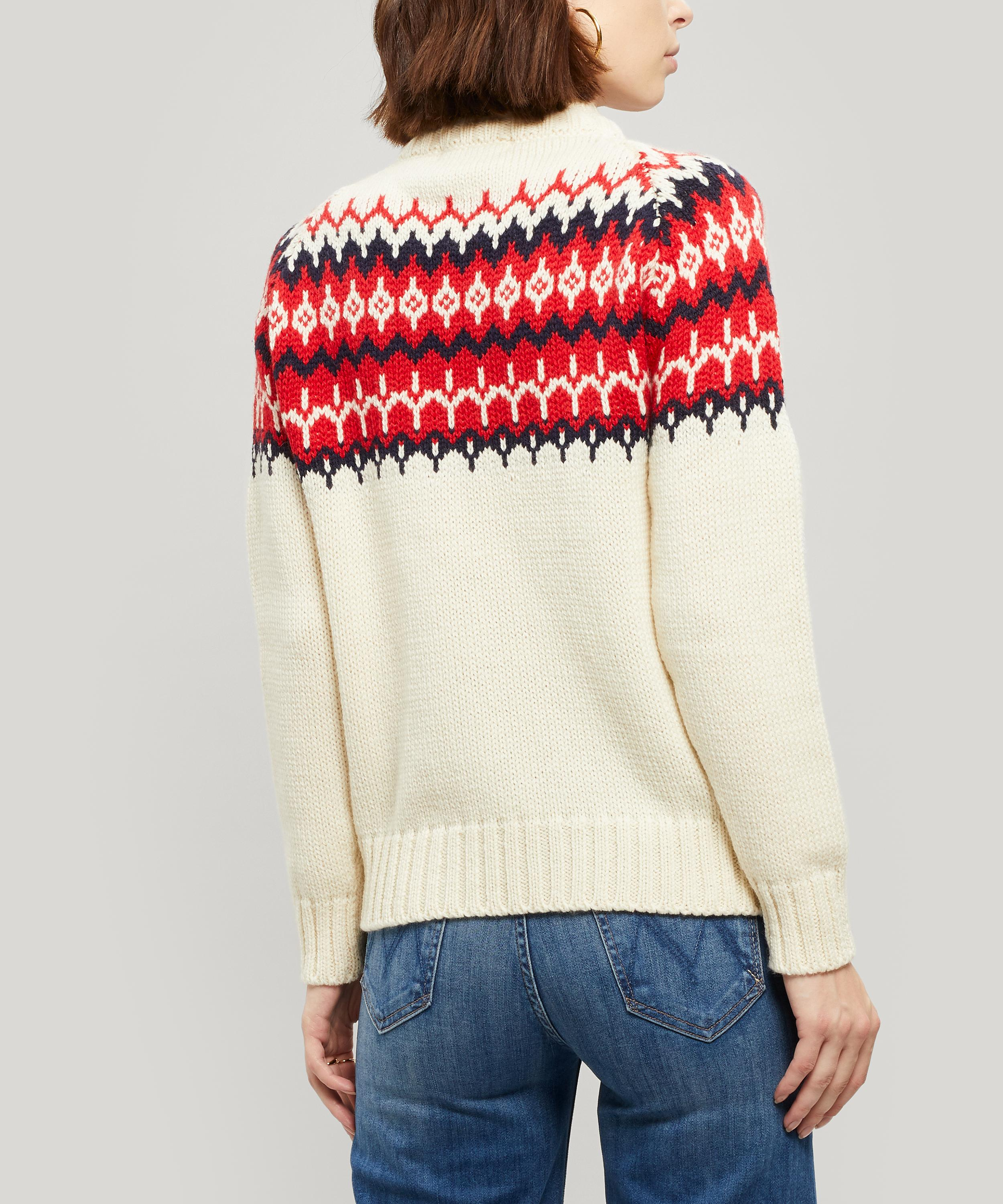 Daughter Bansha Fair Isle Wool Jumper back view.jpg