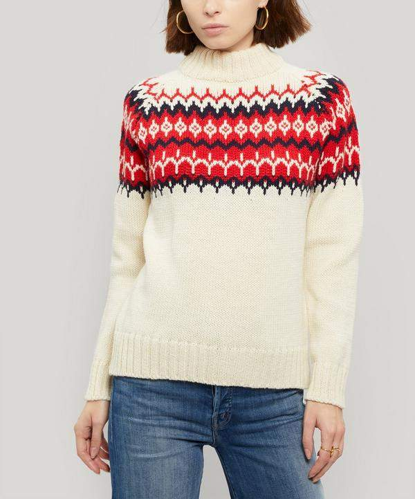 Daughter Bansha Fair Isle Wool Jumper