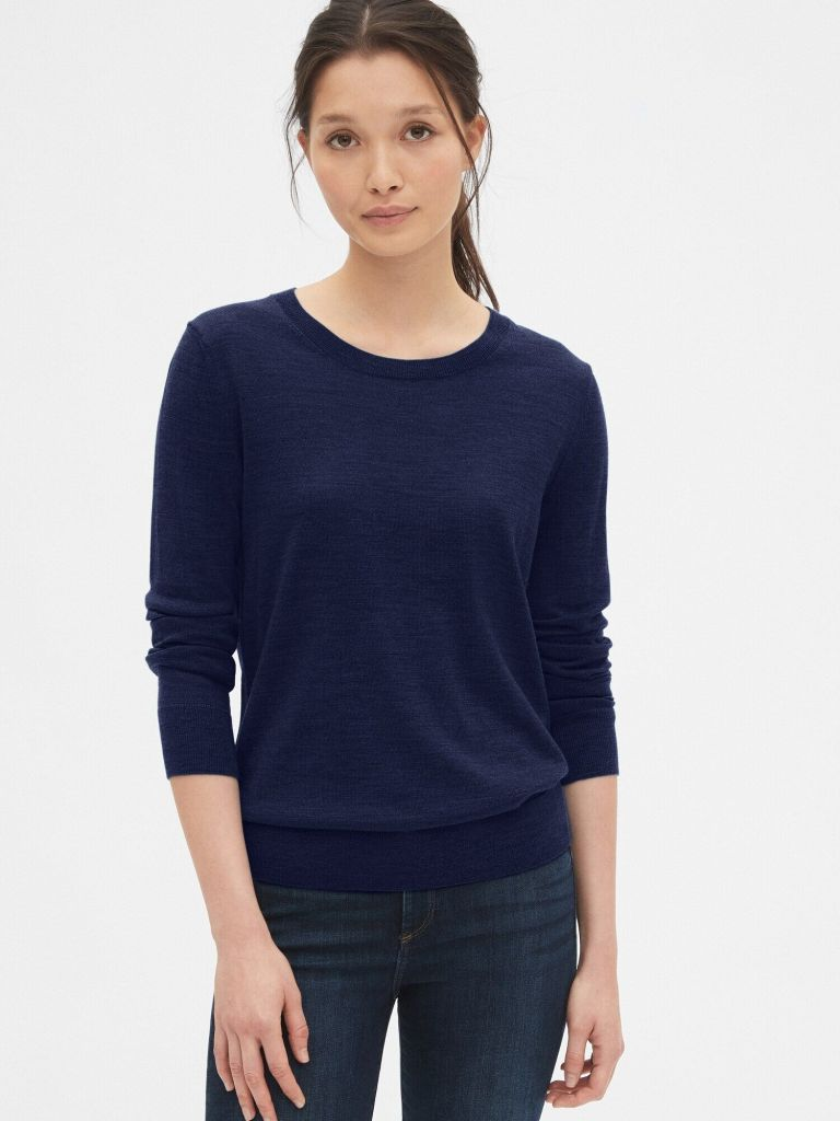 Gap Crewneck Sweater in Merino Wool