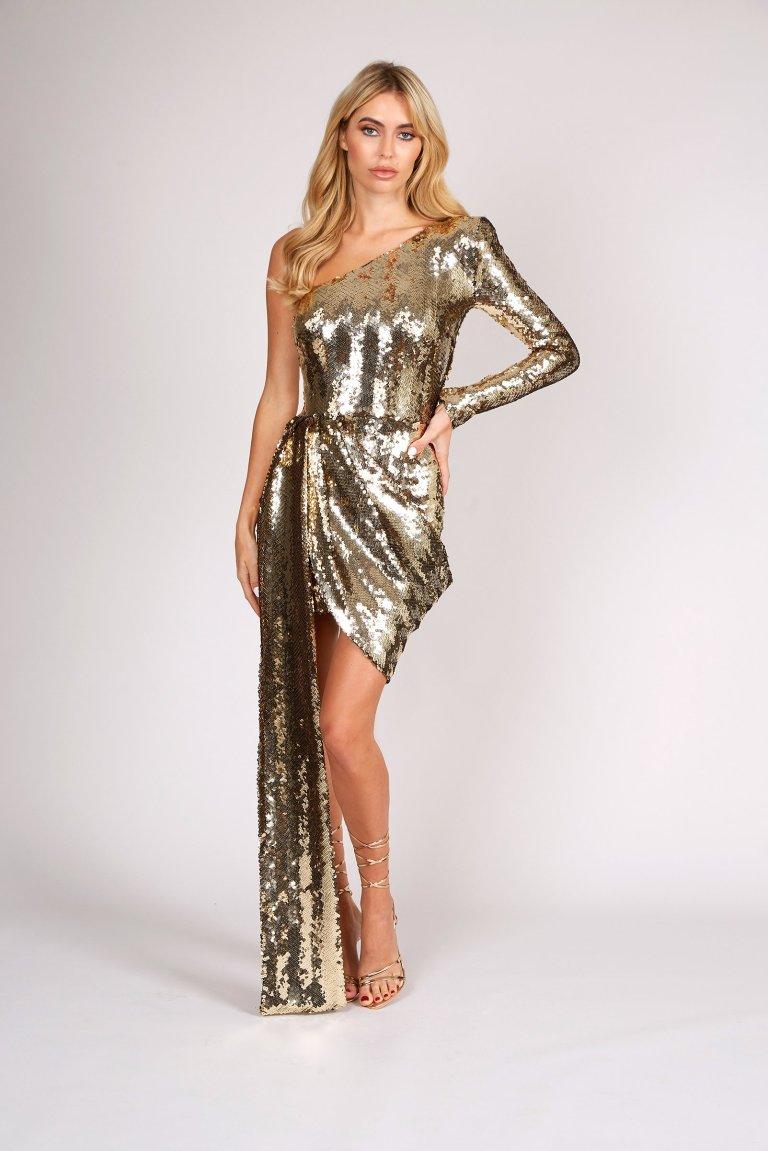 Nadine Merabi Celine dress