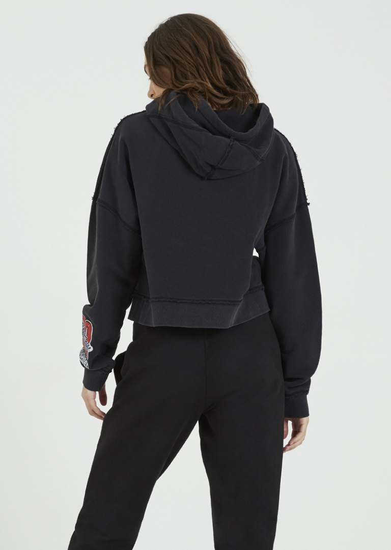 P.E Nation Lead Runner Hoodie back view