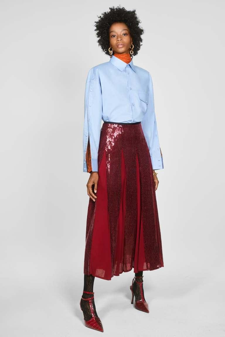 Zara Sequinned Skirt