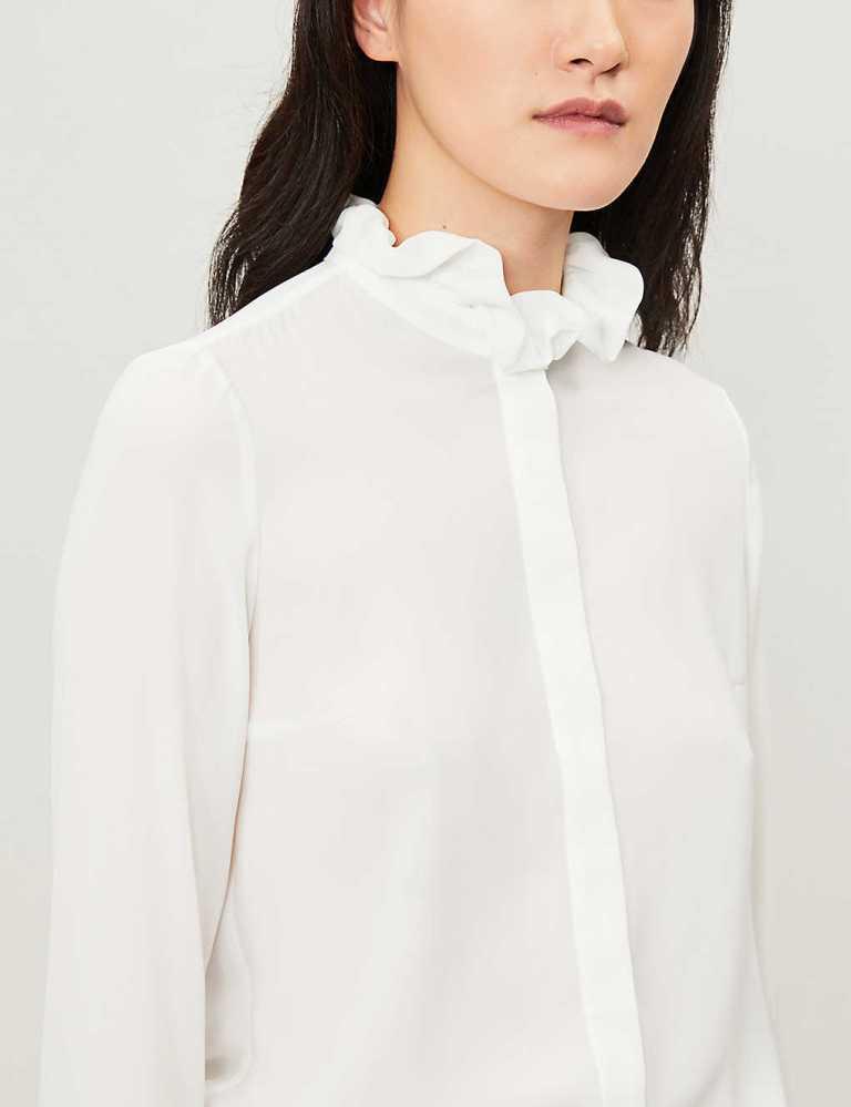 Claudie Pierlot Victorian Collar Loose Shirt