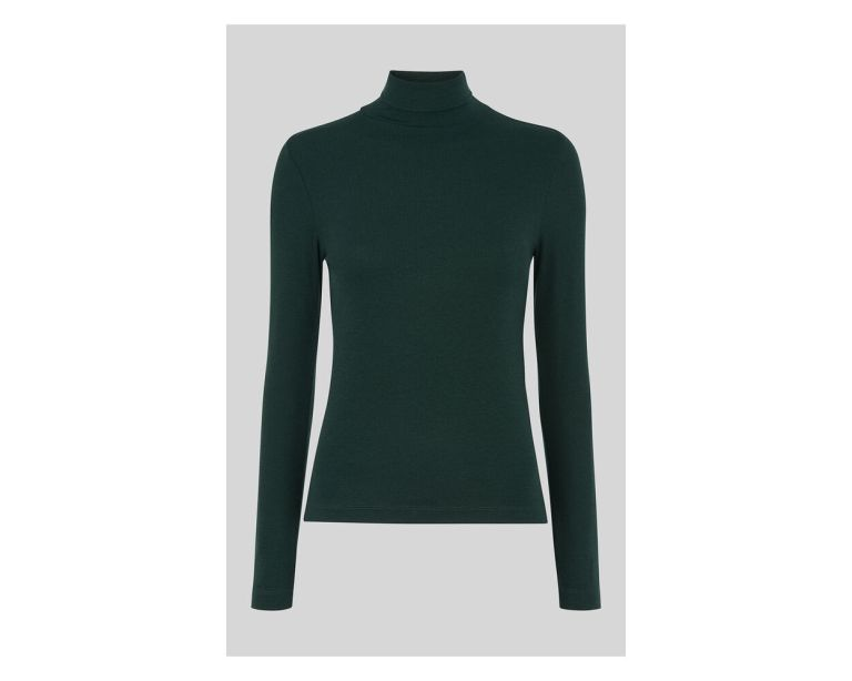 Whistles Essential Polo Neck Top