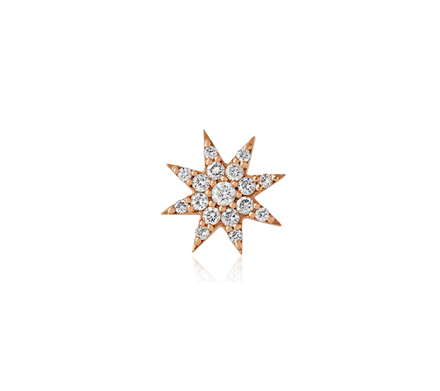 Bee Goddess Venus Star Earrings