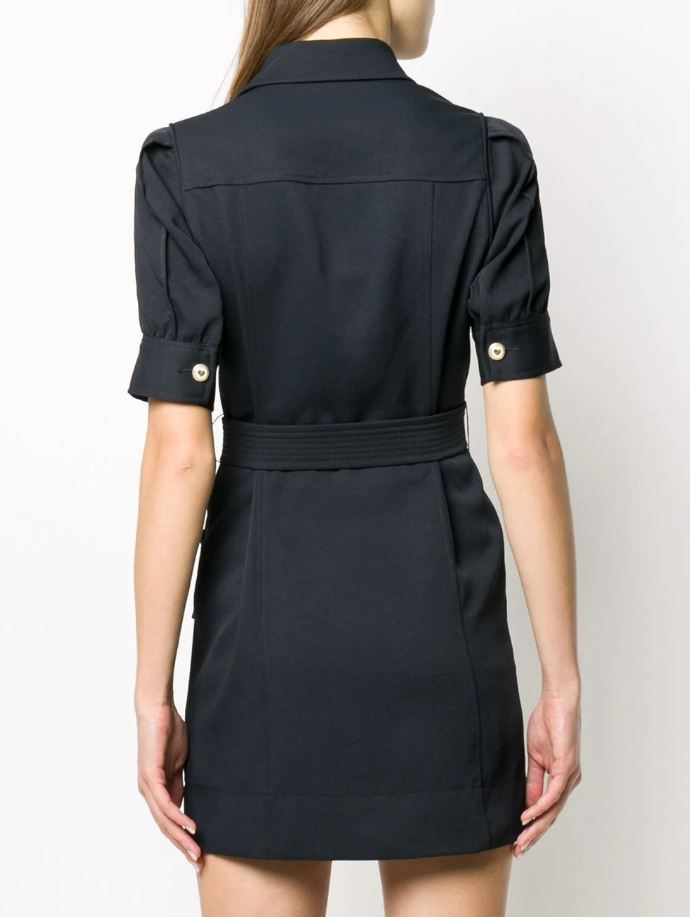Sandro Paris Joody dress back view