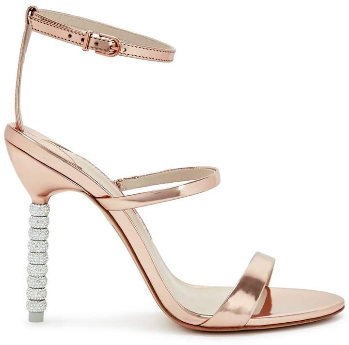 Sophia Webster Rosalind 100 Embellished Leather Sandals