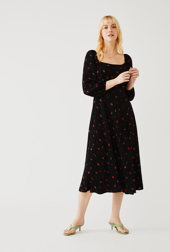 Ghost Joy Dress cherry spot