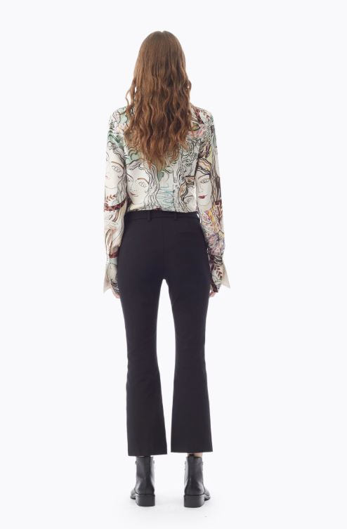 Phillip Lim Exclusive Kick Flare Legging back view