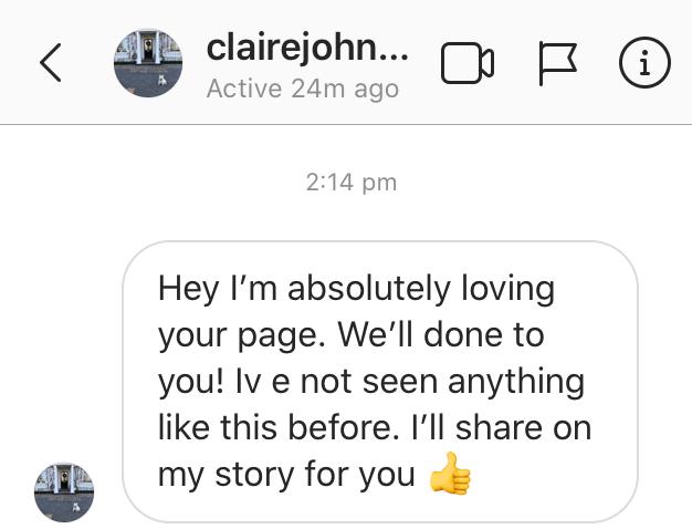 Claires testimonial edited
