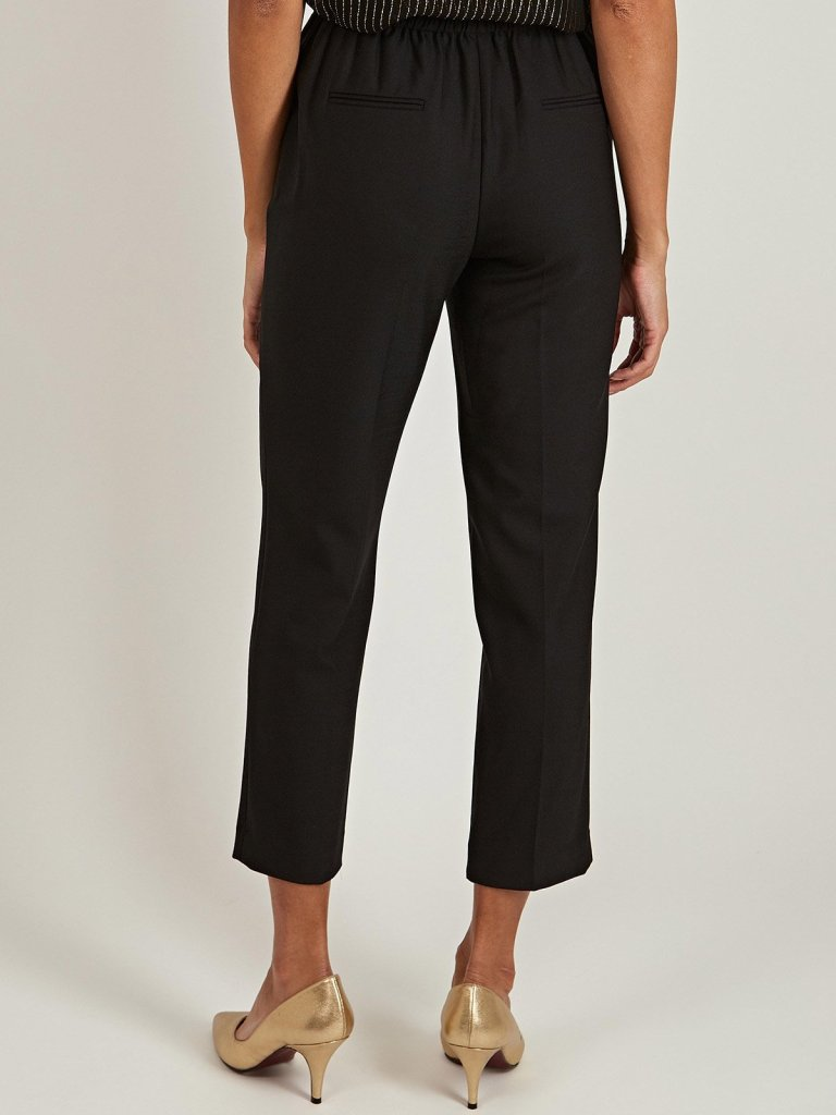 Tailored by Rebecca Taylor Gabardine Smart Pants back view