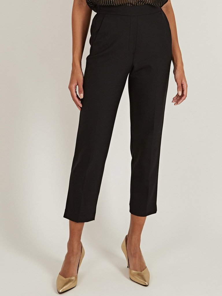 Tailored by Rebecca Taylor Gabardine Smart Pants