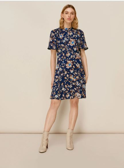 Whistles Prairie Blossom Print Dress