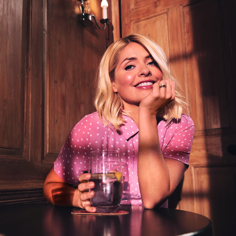 where to get Holly willoughby pink polka dot dress Red Magazine 2020