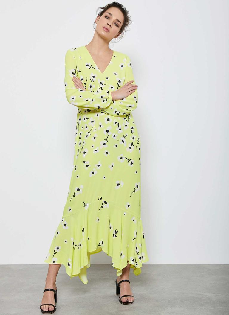 Mint Velvet Juliet Floral Midi Dress