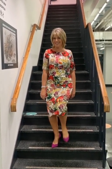 where to get all Ruth Langsford this Morning dresseswhite floral print dress 17 August 2020 Photo Ruth Langfsord
