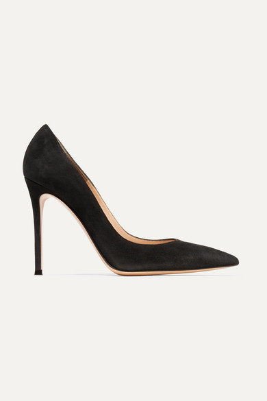 Gianvito Rossi - 105 Suede Pumps