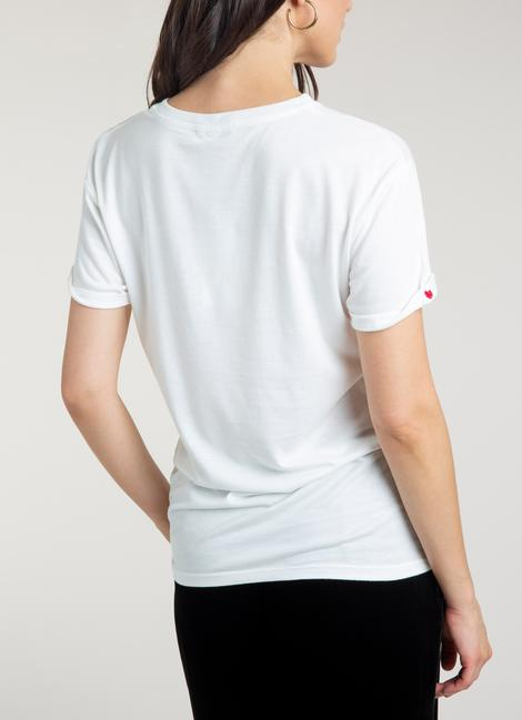 Beulah London For Freedom Organic Cotton T-shirt back view