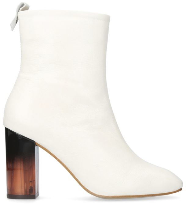 Kurt Geiger London Leather Strut Boots