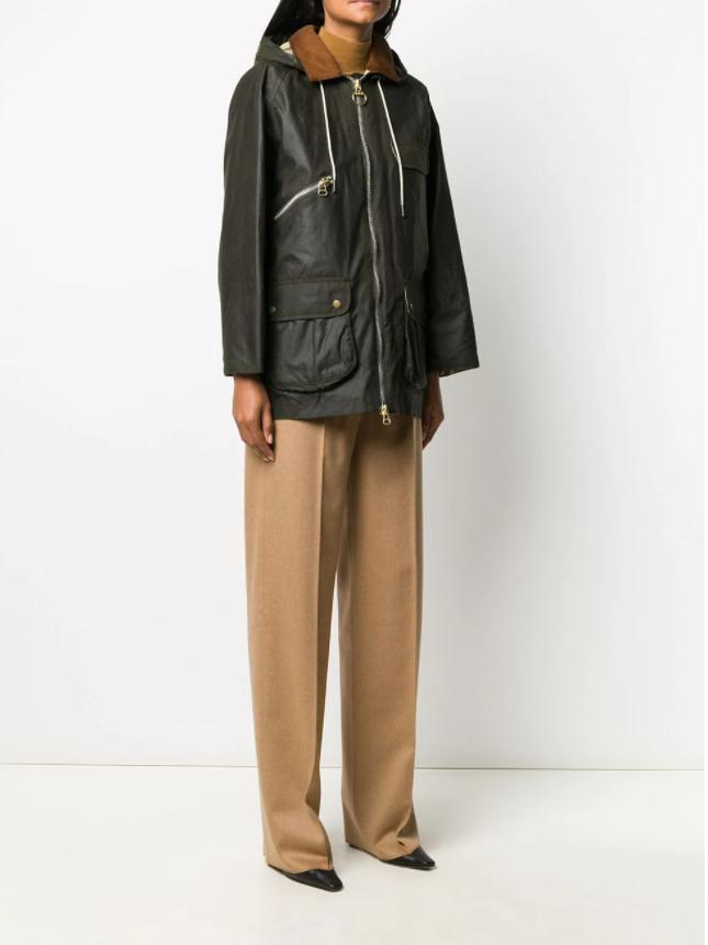 Barbour x Alexa Chung Violet jacket v2