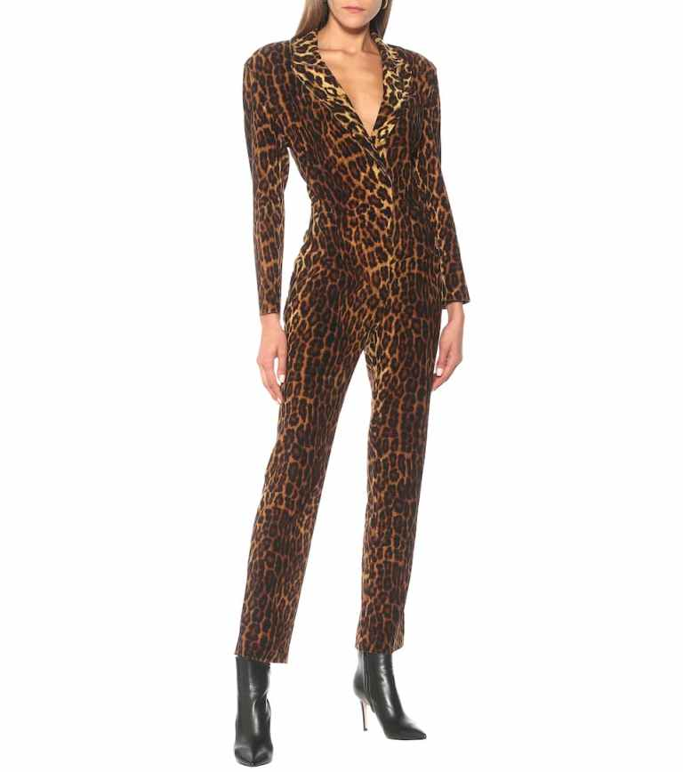 Norma Kamali Leopard-print jumpsuit v2