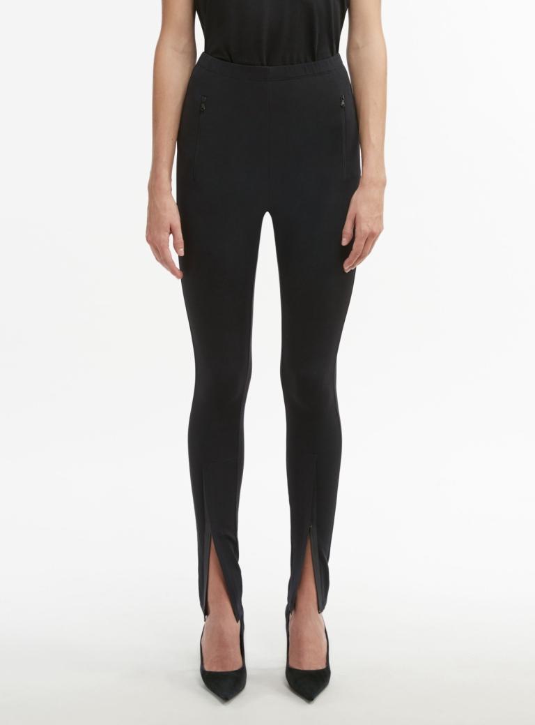 Wardrobe.NYC Front Zip Leggings