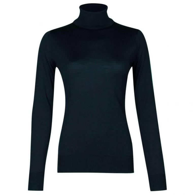 John Smedley Catkin Sweater Orion Green
