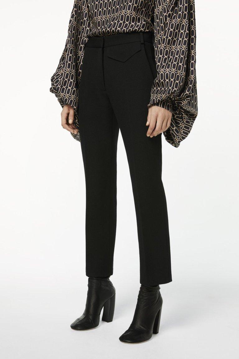 Victoria Beckham Penelope Trouser in Black