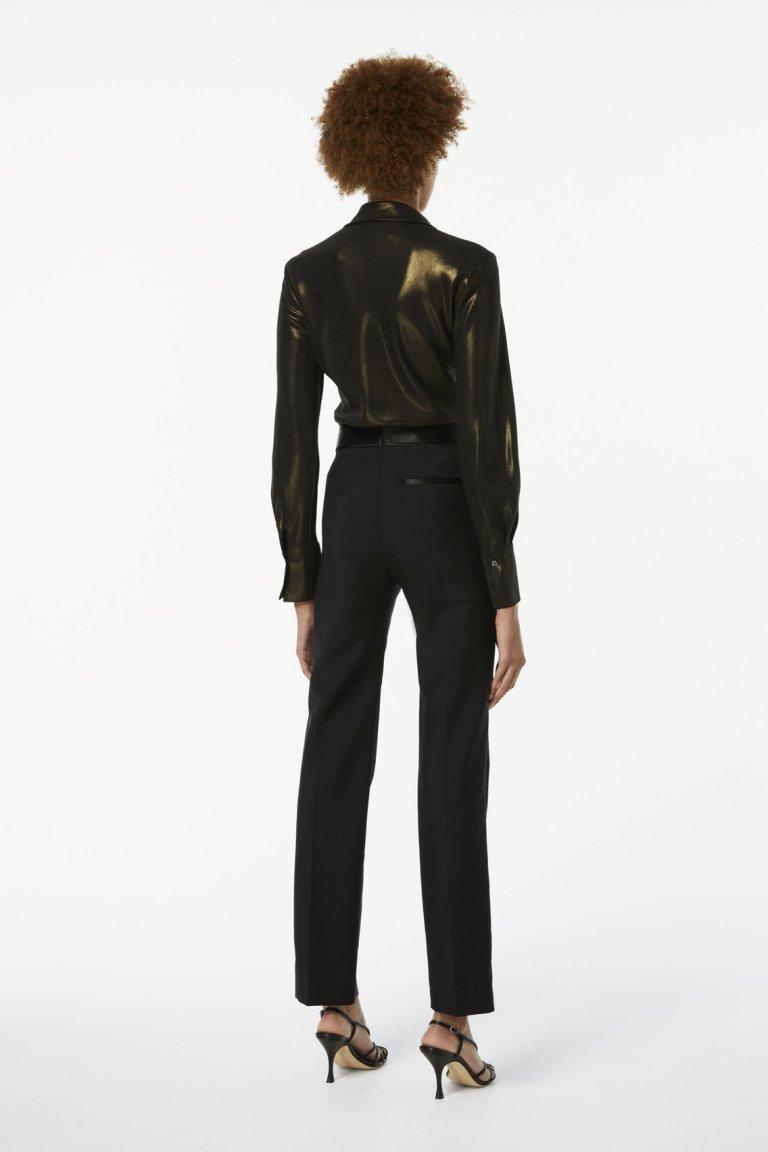 Victoria BeckhamScarf-neck Shirt back view