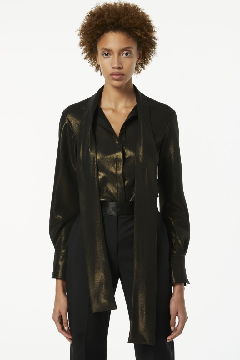 Victoria BeckhamScarf-neck Shirt
