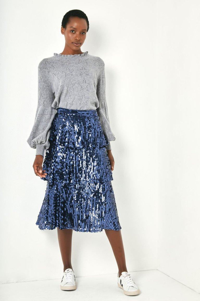 Wyse London Solange Sequin Skirt