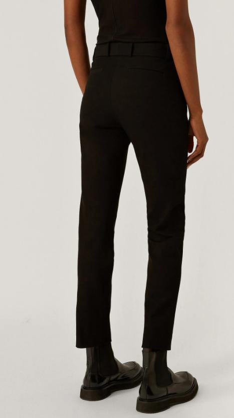 Joseph New Eliston Gabardine Stretch Trousers black