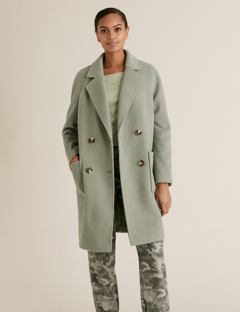 M&S Double Breasted Coat