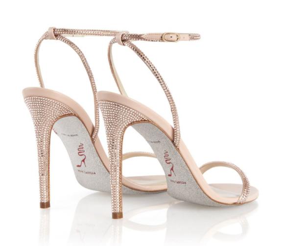 Rene Caovilla sandals with an ankle strap Ellabrita v2