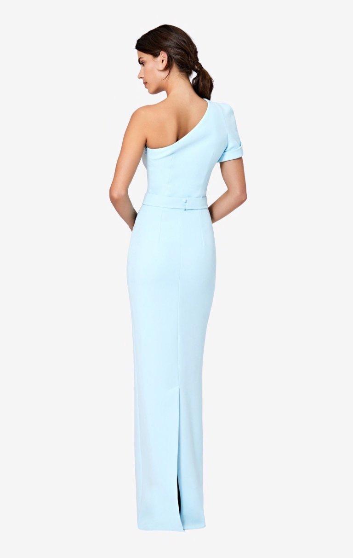 SafiyaaKora One-Shoulder Long Dress back view