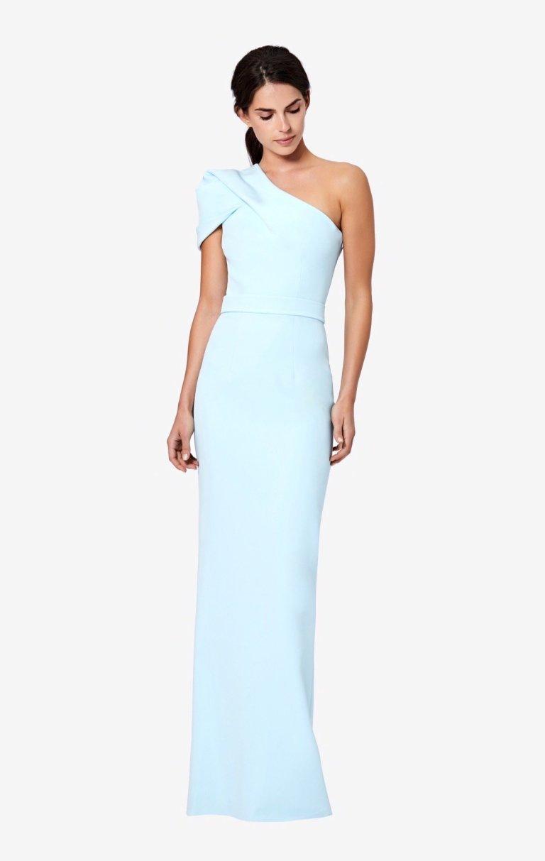SafiyaaKora One-Shoulder Long Dress