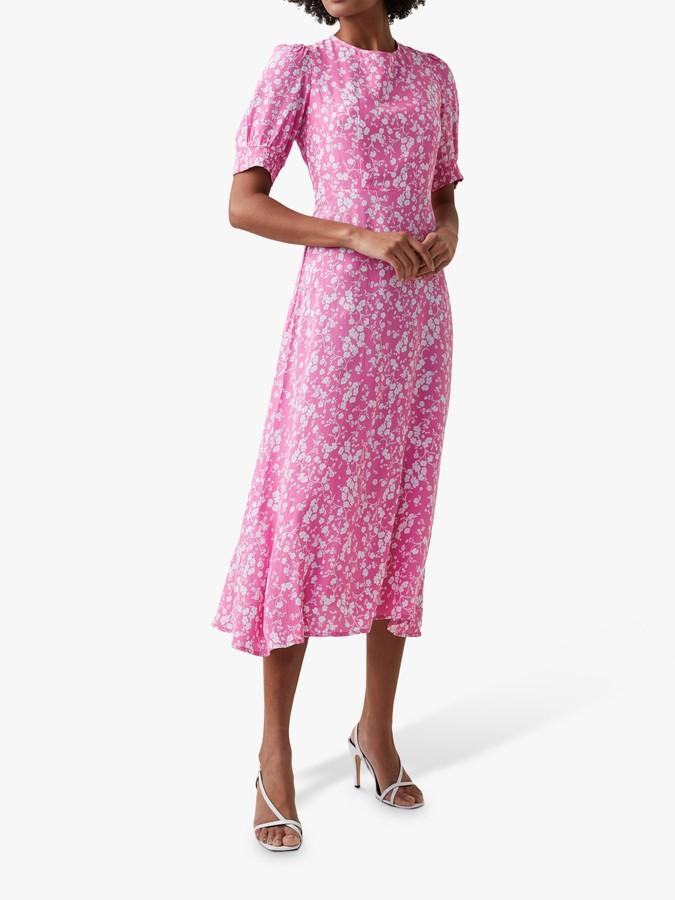 Great Plains Fresh Ditsy Round Neck Dress