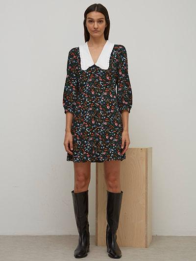 Nobodys Child Floral Colette Mini Dress