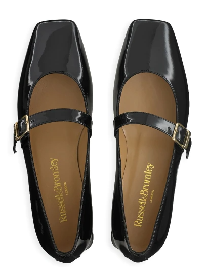 Russell & Bromley Queen Mary Square Toe Mary Jane