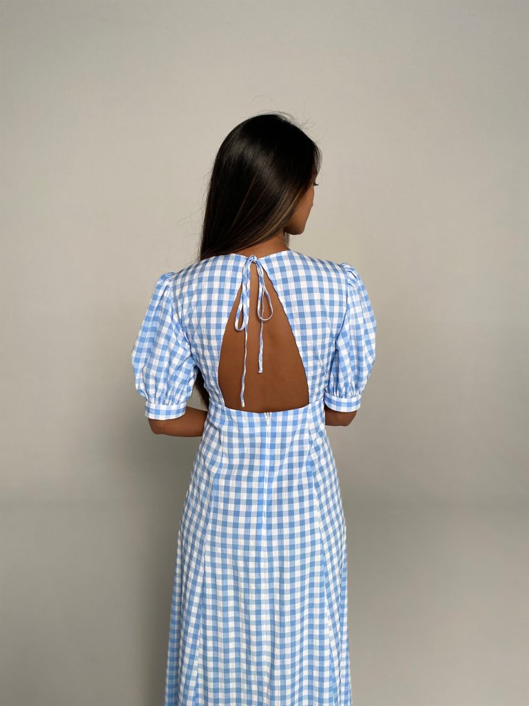 Franks The Michelle Dress back view