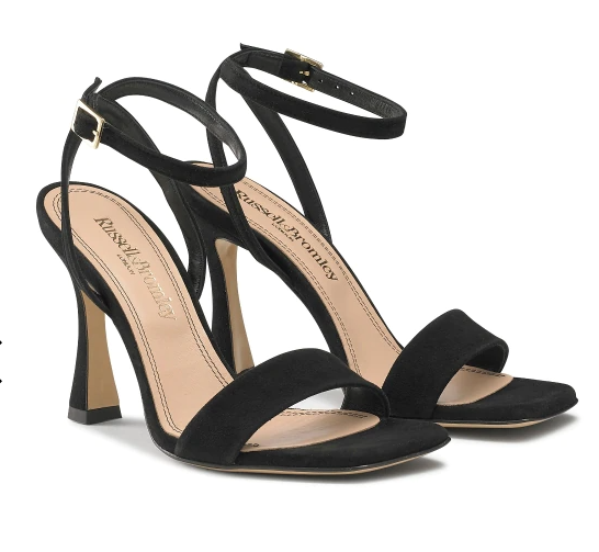 Russell & Bromley COSMO Flared Heel Sandals