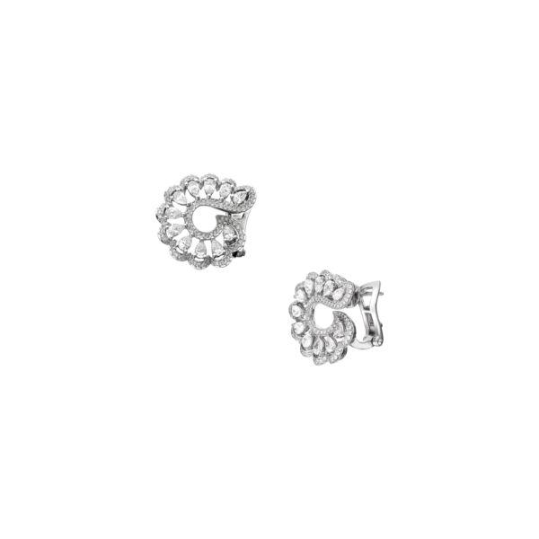 Chopard Precious Lace Vague diamond earrings