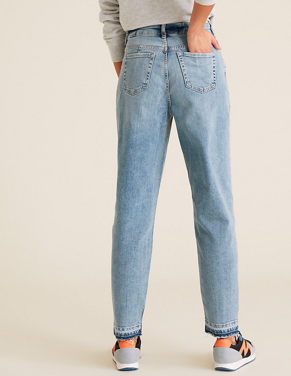 M&SMom High Waisted Jeans back view