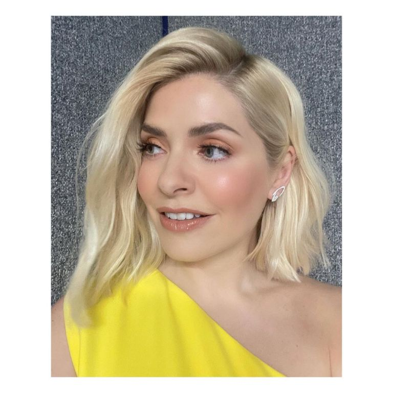 where to get Holly Willoughby yellow one shoulder dress The Masked Dancer 5 June 2021 Photo Holly Willoughby v2