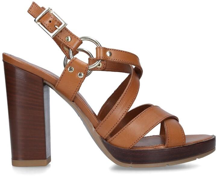 Carvela Karmen Tan Sandals