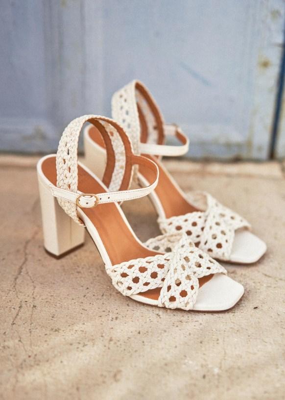 Sezane Alix High Sandals