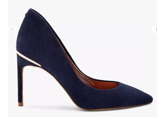Ted Baker Savio 2 Stiletto Heeled Court Shoes