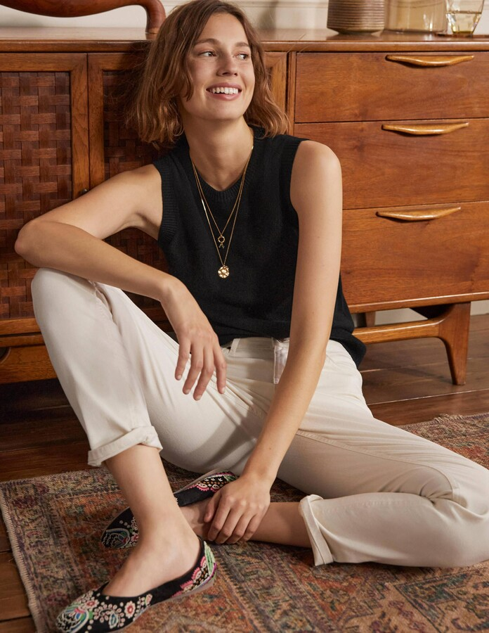 Boden Cashmere Knitted Tank Top